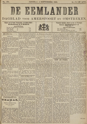 De Eemlander 1908-09-01
