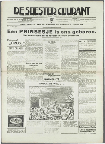 Soester Courant 1938-02-04