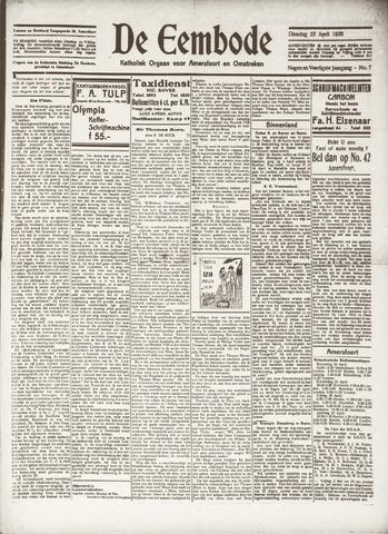 De Eembode 1935-04-23