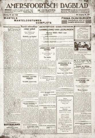 Amersfoortsch Dagblad / De Eemlander 1930-04-26