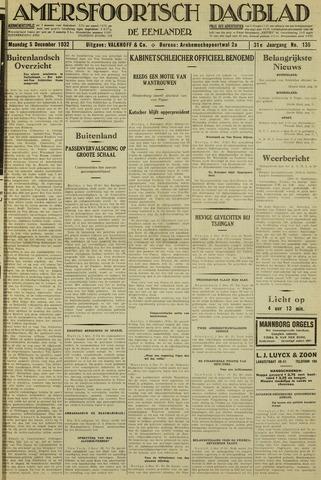 Amersfoortsch Dagblad / De Eemlander 1932-12-05