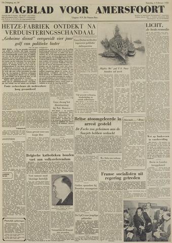 Dagblad voor Amersfoort 1950-02-04