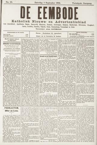 De Eembode 1906-09-08