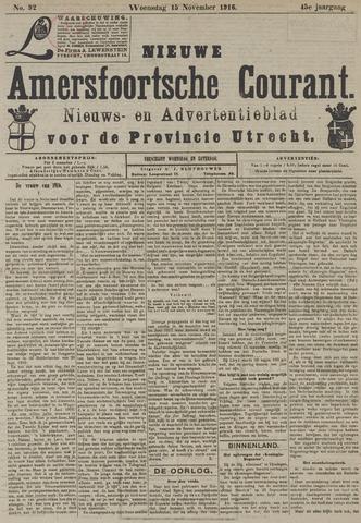 Nieuwe Amersfoortsche Courant 1916-11-15