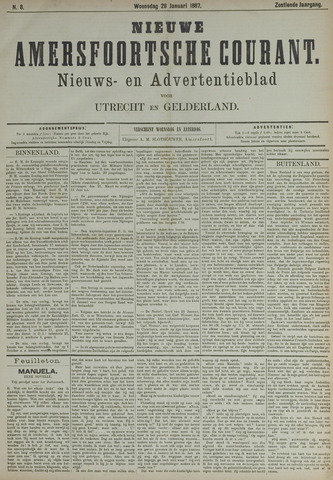 Nieuwe Amersfoortsche Courant 1887-01-26