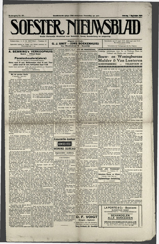 Soester Courant 1923-09-01