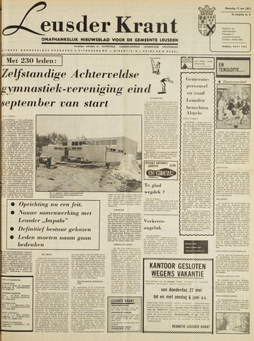 Leusder Krant 1971-05-19