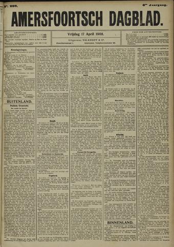 Amersfoortsch Dagblad 1908-04-17