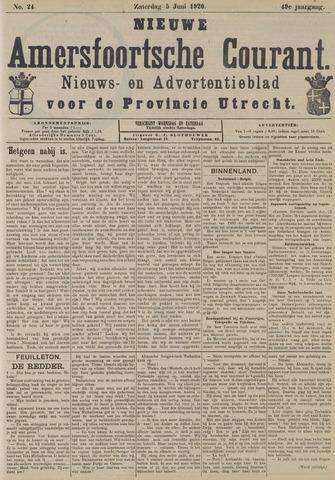 Nieuwe Amersfoortsche Courant 1920-06-05