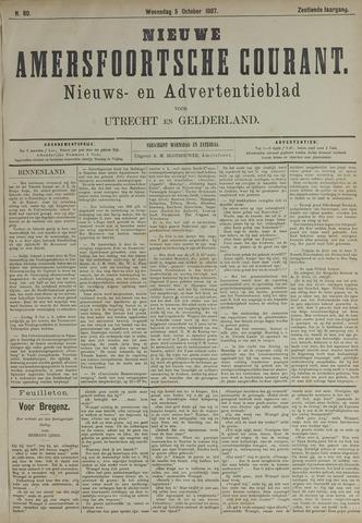 Nieuwe Amersfoortsche Courant 1887-10-05