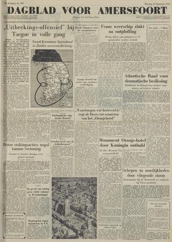 Dagblad voor Amersfoort 1950-09-18