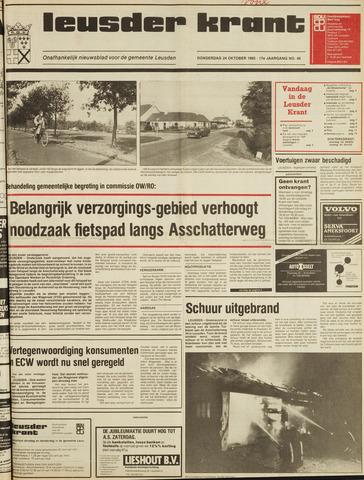 Leusder Krant 1985-10-24