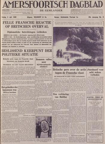 Amersfoortsch Dagblad / De Eemlander 1940-07-05