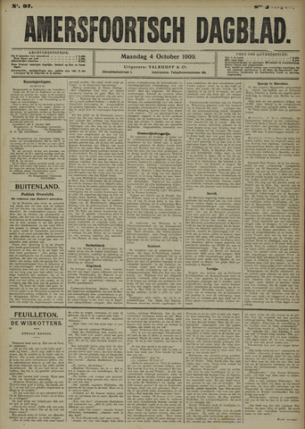 Amersfoortsch Dagblad 1909-10-04