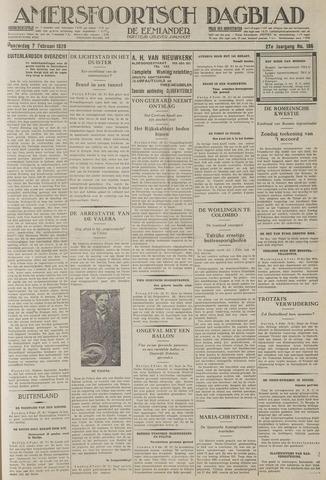 Amersfoortsch Dagblad / De Eemlander 1929-02-07