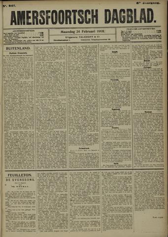 Amersfoortsch Dagblad 1908-02-24
