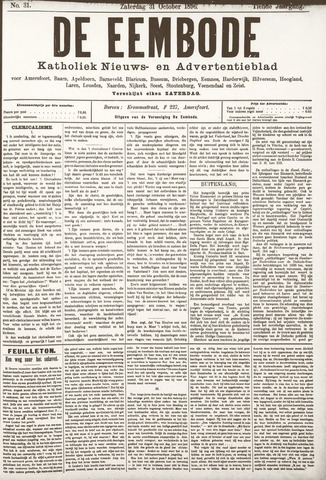 De Eembode 1896-10-31
