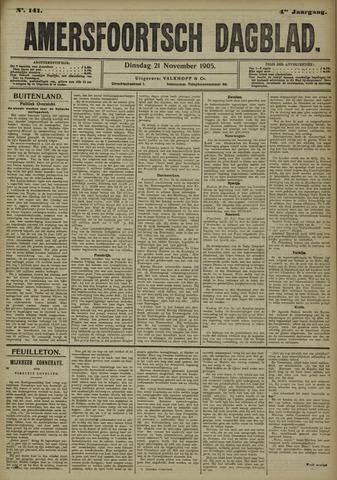Amersfoortsch Dagblad 1905-11-21
