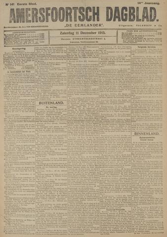 Amersfoortsch Dagblad / De Eemlander 1915-12-11
