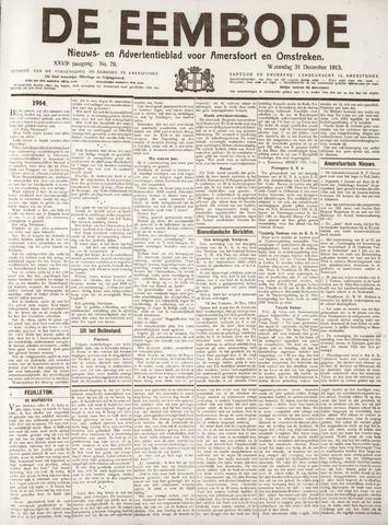 De Eembode 1913-12-31