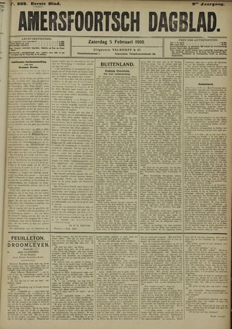 Amersfoortsch Dagblad 1910-02-05