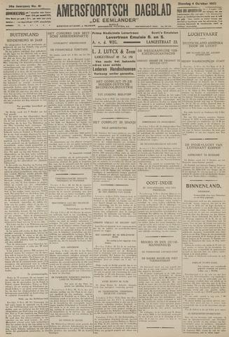 Amersfoortsch Dagblad / De Eemlander 1927-10-04