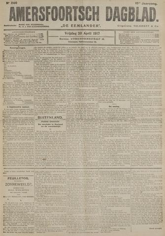 Amersfoortsch Dagblad / De Eemlander 1917-04-20