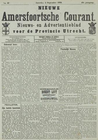 Nieuwe Amersfoortsche Courant 1920-09-04