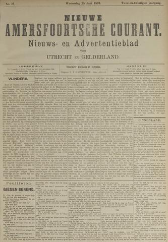 Nieuwe Amersfoortsche Courant 1893-06-28