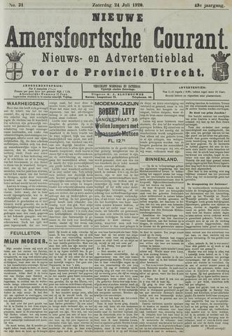 Nieuwe Amersfoortsche Courant 1920-07-24
