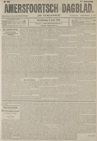 Amersfoortsch Dagblad / De Eemlander 1913-06-05