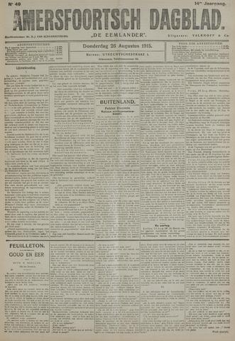 Amersfoortsch Dagblad / De Eemlander 1915-08-26