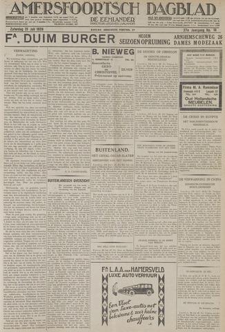 Amersfoortsch Dagblad / De Eemlander 1928-07-21