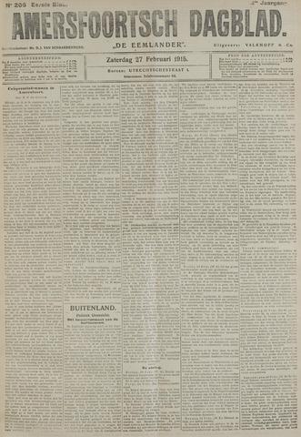 Amersfoortsch Dagblad / De Eemlander 1915-02-27