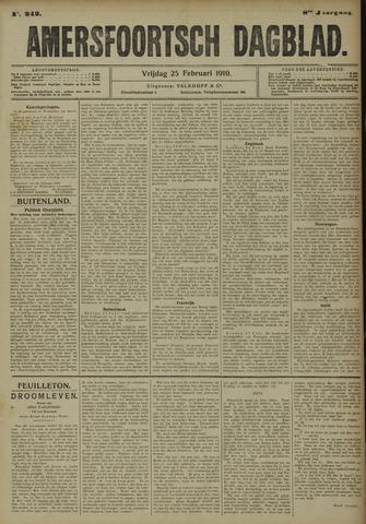 Amersfoortsch Dagblad 1910-02-25