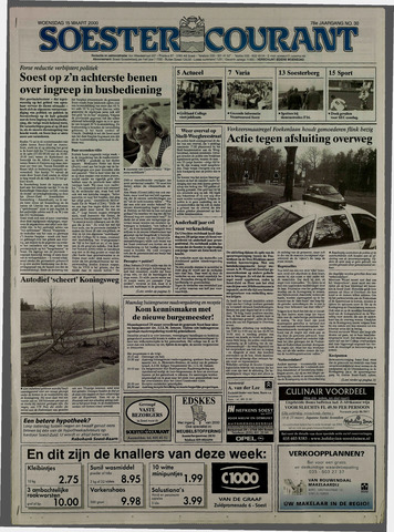 Soester Courant 2000-03-15