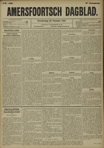 Amersfoortsch Dagblad 1910-10-20
