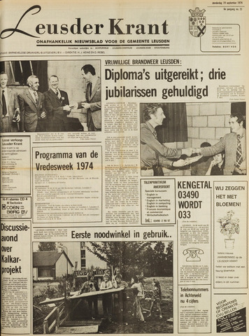 Leusder Krant 1974-09-19