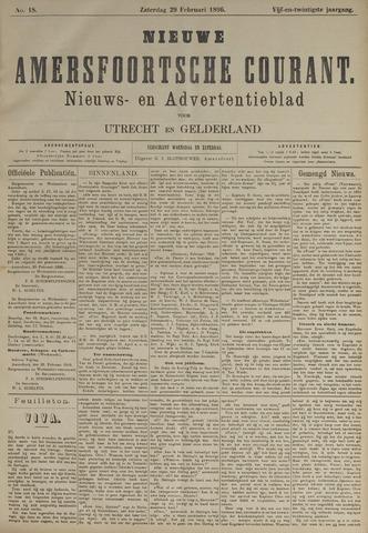 Nieuwe Amersfoortsche Courant 1896-02-29