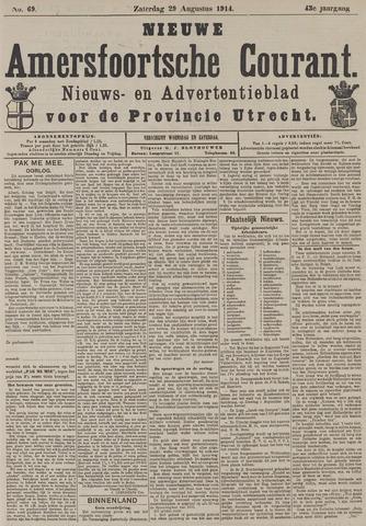 Nieuwe Amersfoortsche Courant 1914-08-29