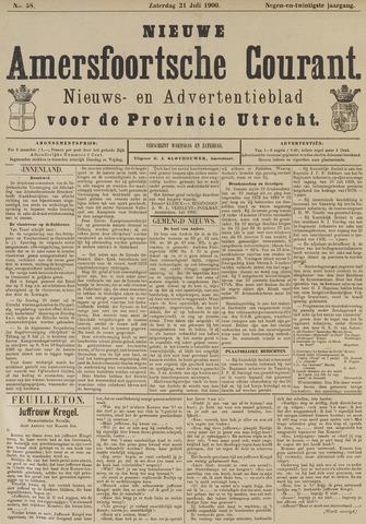 Nieuwe Amersfoortsche Courant 1900-07-21