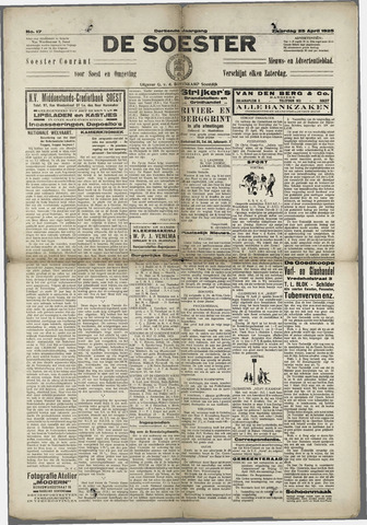 Soester Courant 1925-04-25