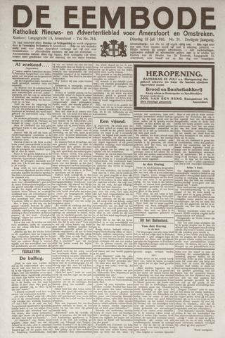 De Eembode 1916-07-18