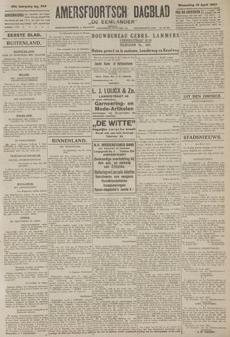 Amersfoortsch Dagblad / De Eemlander 1927-04-13