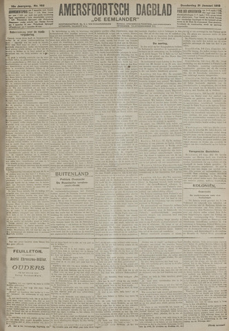 Amersfoortsch Dagblad / De Eemlander 1918-01-31