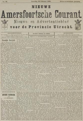 Nieuwe Amersfoortsche Courant 1898-02-26