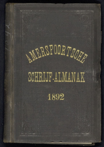 Adresboeken Amersfoort 1892
