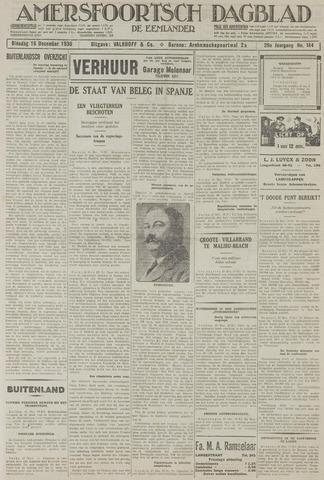 Amersfoortsch Dagblad / De Eemlander 1930-12-16