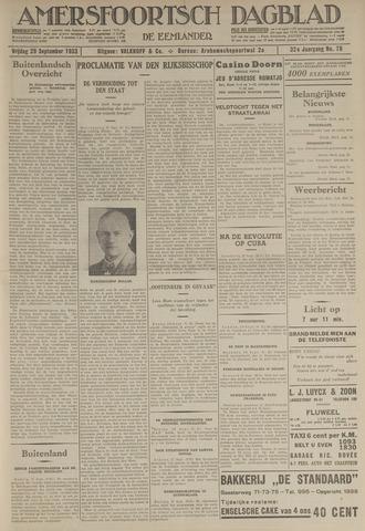 Amersfoortsch Dagblad / De Eemlander 1933-09-29