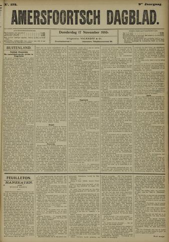 Amersfoortsch Dagblad 1910-11-17
